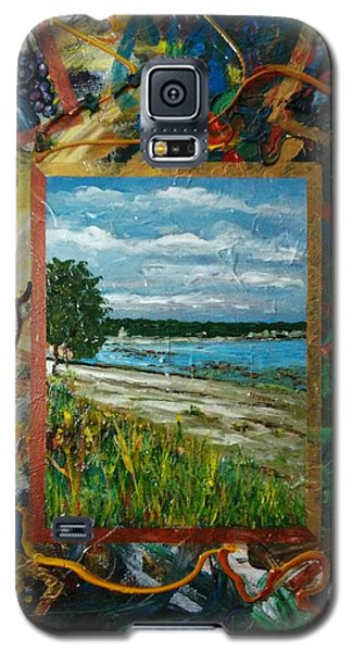 A Framed Landscape Galaxy S5 Case