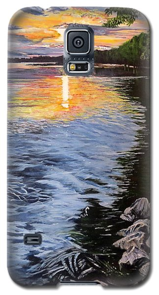 A Fraser River Sunset Galaxy S5 Case