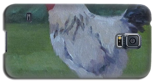 Galaxy S5 Case featuring the painting A French Rooster by Jennifer Boswell