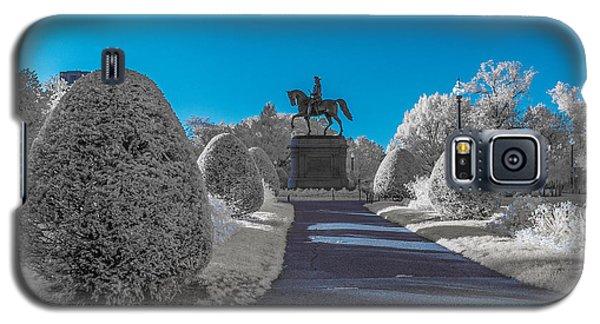 A Frosted Boston Public Garden Galaxy S5 Case