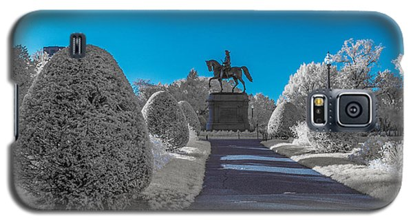 A Frosted Boston Public Garden Galaxy S5 Case