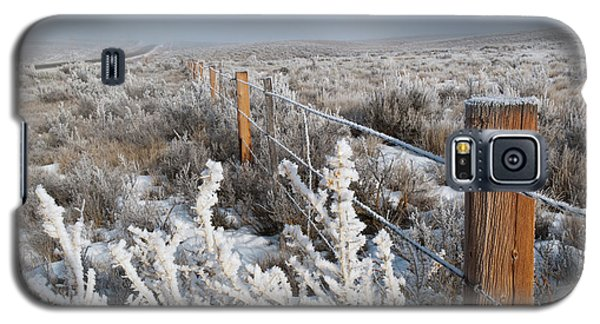 A Frosty And Foggy Morning On The Way To Steamboat Springs Galaxy S5 Case