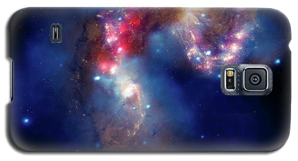 Galaxy S5 Case featuring the photograph A Galactic Spectacle by Marco Oliveira