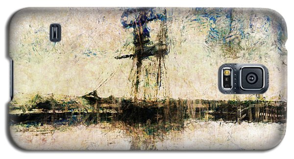 Galaxy S5 Case featuring the photograph A Gallant Ship by Claire Bull