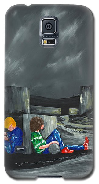 A Game Of Two Divides Galaxy S5 Case