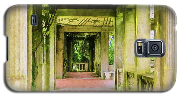 A Garden House Entryway. Galaxy S5 Case