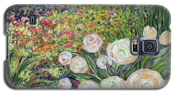 Impressionism Galaxy S5 Case - A Garden Romance by Jennifer Lommers