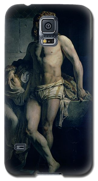 Dungeon Galaxy S5 Case - A Gaul And His Daughter Imprisoned In Rome by Felix-Joseph Barrias