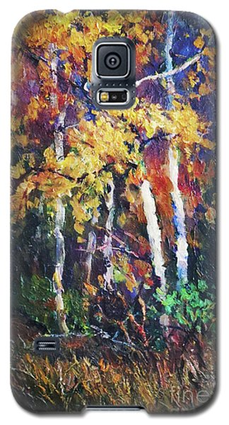 A Glance Of The Woods Galaxy S5 Case
