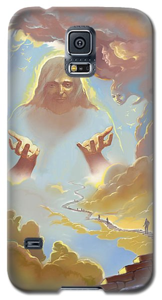Galaxy S5 Case featuring the digital art A Glimpse Into Heaven by John Norman Stewart