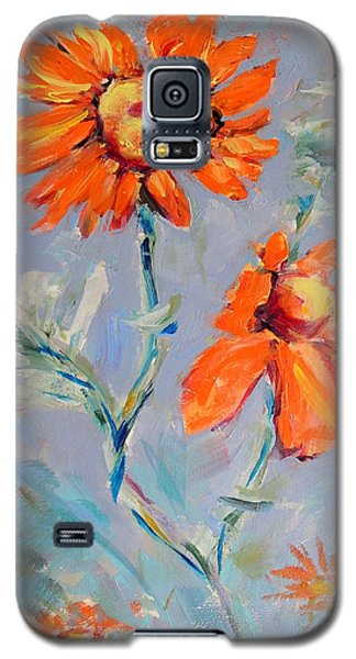 A Glow Galaxy S5 Case by Mary Schiros