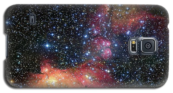 Galaxy S5 Case featuring the photograph A Glowing Gas Cloud In The Large Magellanic Cloud by Eso