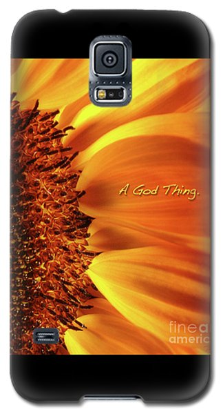 A God Thing-2 Galaxy S5 Case