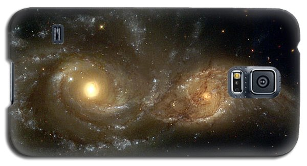 A Grazing Encounter Between Two Spiral Galaxies Galaxy S5 Case