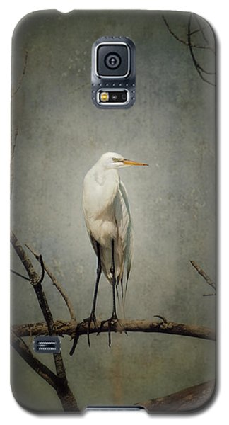 A Great Egret Galaxy S5 Case