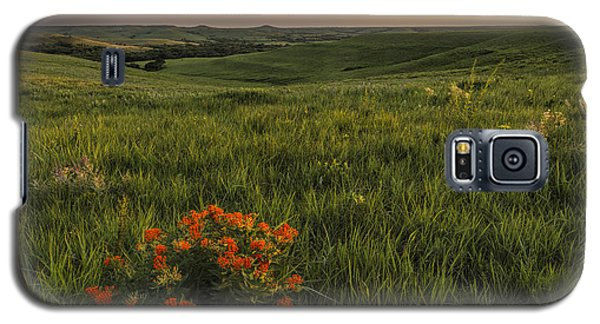 A Great View Of The Flint Hills Galaxy S5 Case