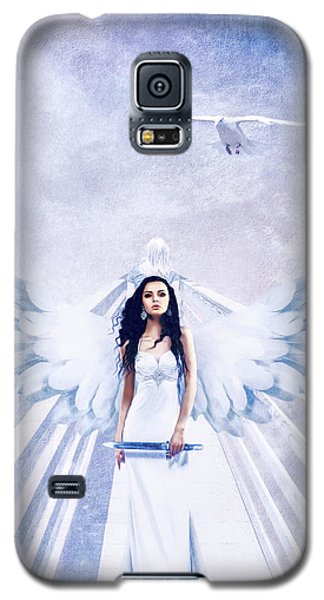 A Guardian Angel Will Attend Thee All Through The Night Galaxy S5 Case