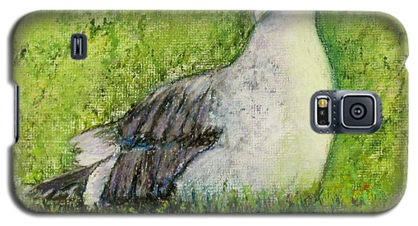 A Gull On The Grass Galaxy S5 Case