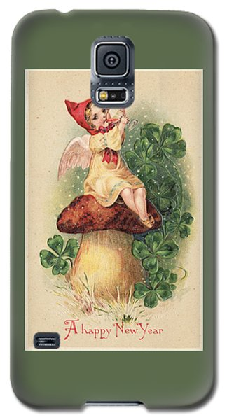 A Happy New Year Greeting Galaxy S5 Case