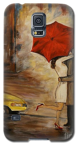 A Hello Kiss Galaxy S5 Case by Leslie Allen