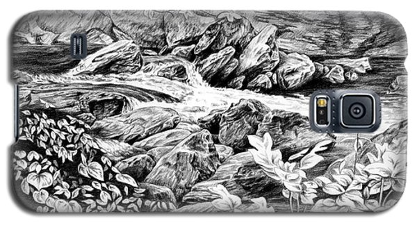 A Hiker's View - Landscape Print Galaxy S5 Case