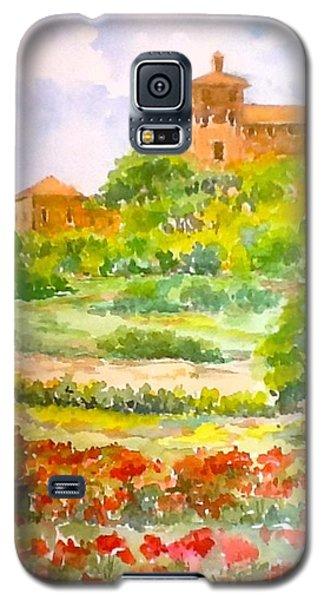 A Hillside Near San Gimignano Galaxy S5 Case