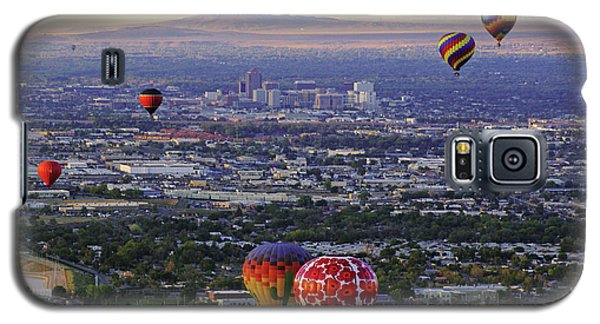 A Hot Air Ride To Albuquerque Cropped Galaxy S5 Case