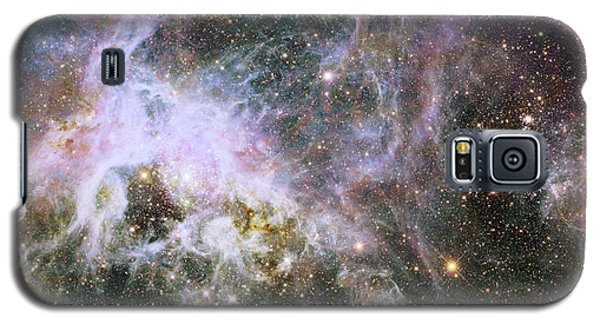 Galaxy S5 Case featuring the photograph A Hubble Infrared View Of The Tarantula Nebula by Nasa