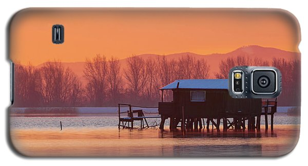 A Hut On The Water Galaxy S5 Case