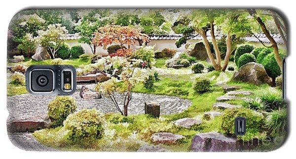 A Japanese Zen Garden Galaxy S5 Case