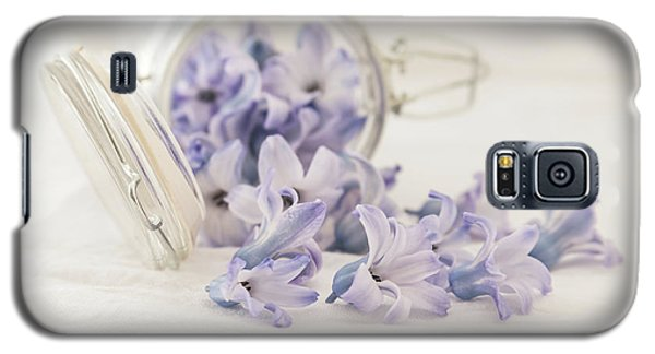 Galaxy S5 Case featuring the photograph A Jar Of Purple Sweetness by Kim Hojnacki