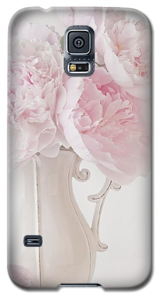 A Jug Of Soft Pink Peonies Galaxy S5 Case