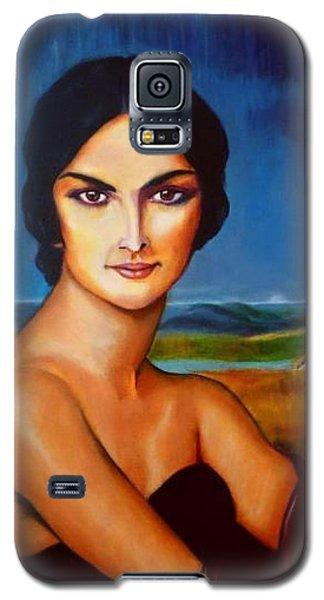 A Lady Galaxy S5 Case by Manuel Sanchez