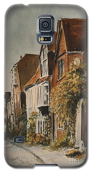 Galaxy S5 Case featuring the painting A Lane In Rye by Beatrice Cloake