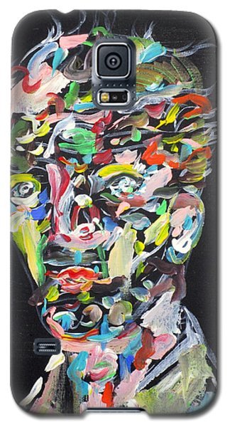 Galaxy S5 Case featuring the painting A Life Full Of Oppurtunities by Fabrizio Cassetta