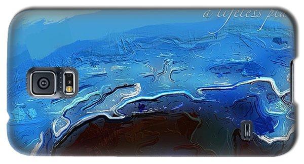 A Lifeless Planet Blue Galaxy S5 Case