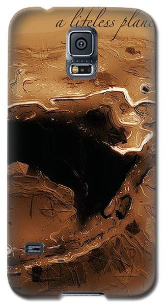 A Lifeless Planet Brown Galaxy S5 Case