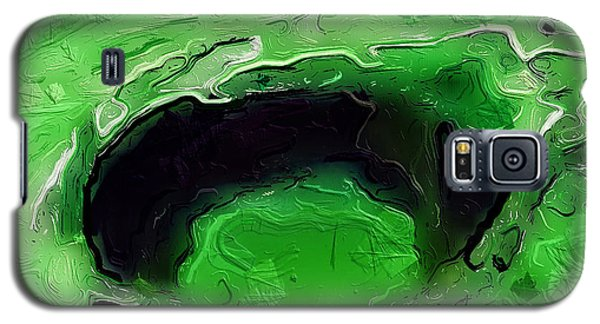A Lifeless Planet Green Galaxy S5 Case