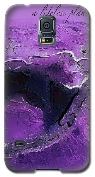 A Lifeless Planet Purple Galaxy S5 Case
