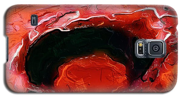 A Lifeless Planet Red Galaxy S5 Case