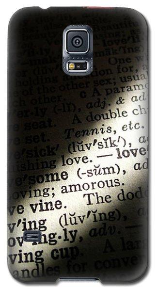 A Light On Love Galaxy S5 Case