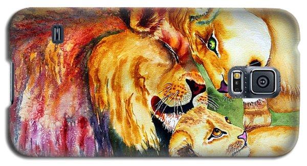 A Lion's Pride Galaxy S5 Case