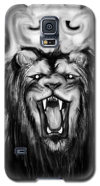 A Lion's Royalty B/w Galaxy S5 Case