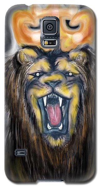 A Lion's Royalty Galaxy S5 Case