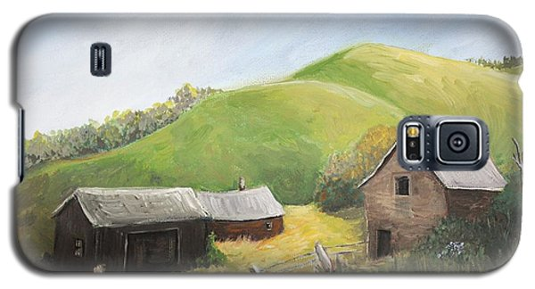 A Little Country Scene Galaxy S5 Case