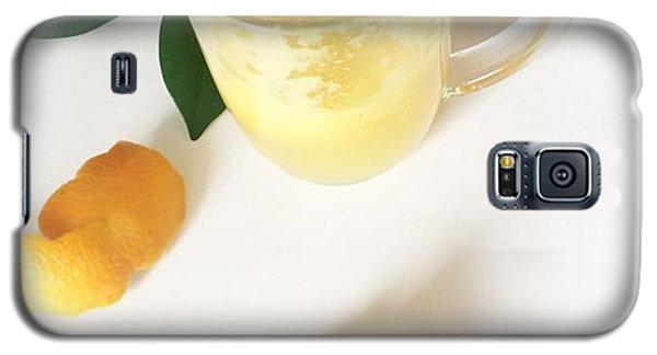 Music Galaxy S5 Case - A Little Fresh Oj, Because Oranges Are by E M I L Y  B U R T O N
