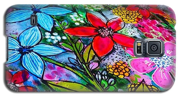 Galaxy S5 Case - A Little Update Before I Add Step 4 To by Robin Mead