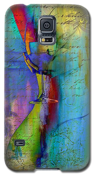 Galaxy S5 Case featuring the digital art A Little Wining by Greg Sharpe