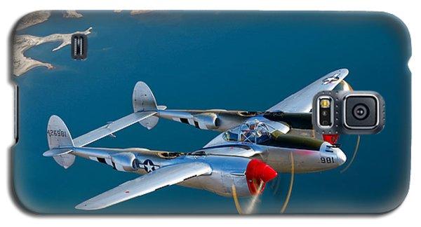 A Lockheed P-38 Lightning Fighter Galaxy S5 Case