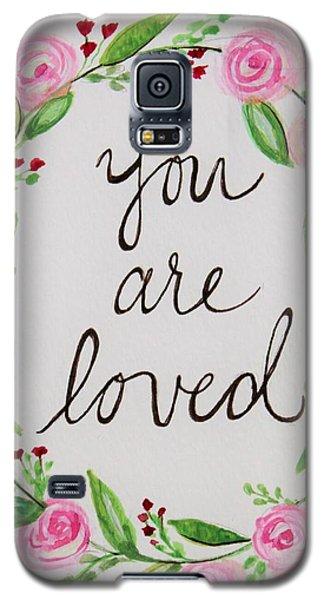 A Love Note Galaxy S5 Case by Elizabeth Robinette Tyndall